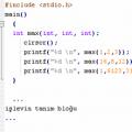 C Notları (bilgisayar programlama)