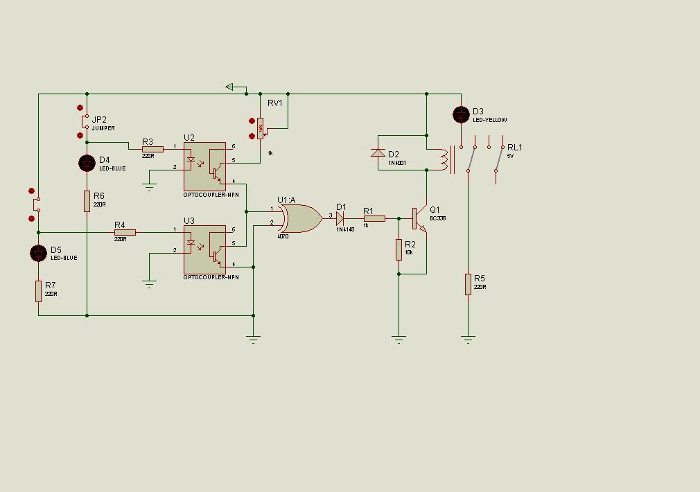 Proteus Isis Analog  Digital Electronic Circuit