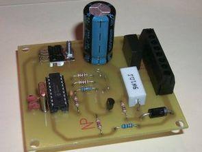 LCD Göstergeli pil şarj devresi (16f876)