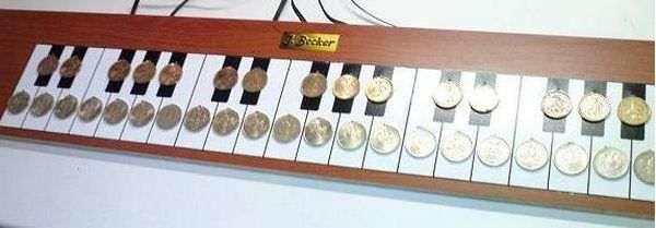 PIC Microcontroller Controlled Electronic Piano Project mikro denetleyici piyano muzik diy piano
