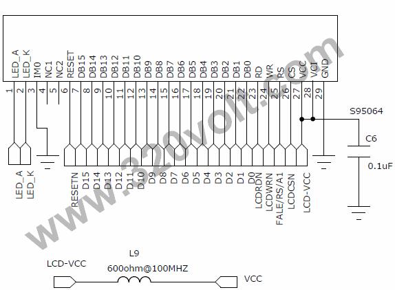 tft lcd ekran datasheet ba u011flant u0131  u015femalar u0131  u2013 elektronik devreler projeler