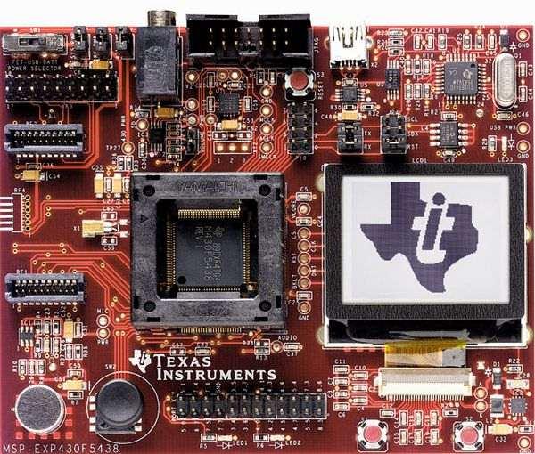 msp-exp430f5438-16-Bit Ultra-Low-Power-Microcontroller