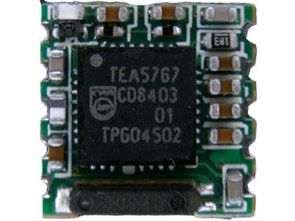 TEA5767 PIC16F628 Dijital PLL kontrollü FM Radyo Alıcı Sistemi