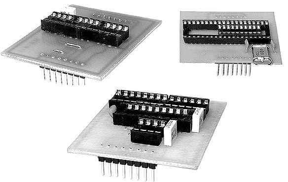 Universal Programmer Atmel Microchip EEPROM  All in One universal programmer pcb avt pic eeprom