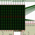 16X16 matrix grafik ekran projesi