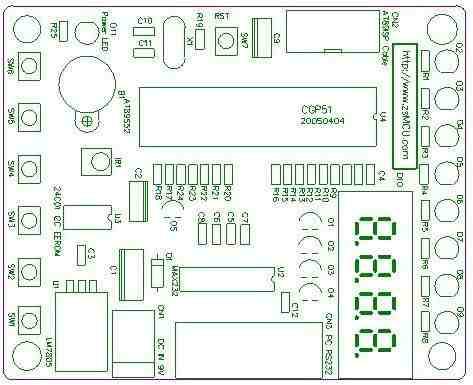 8051-mcu-development board-sch