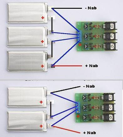 Li-Ion-Li-Pol-balancer-charger-circuit