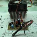 BD137 Transistörün ısı sensörü olarak kullanılması regüleli fan kontrol