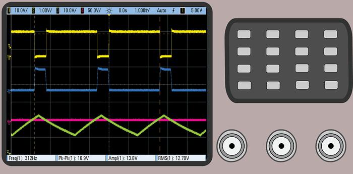 motor-hiz-kontrolu-osiloskop-motor-speed-control-oscilloscope