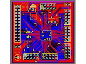 MSP430F149 Baskı devre pcb (protel)
