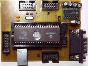 PIC16C765 USB Test Kartı
