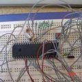 PIC16F874P Proje geliştirme test deney devresi