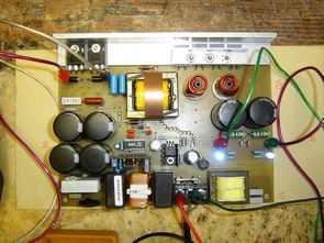 SG3525 IR2110 Güç amplifikatörleri için SMPS Devresi