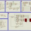 TTL Entegreler ile display uygulamaları