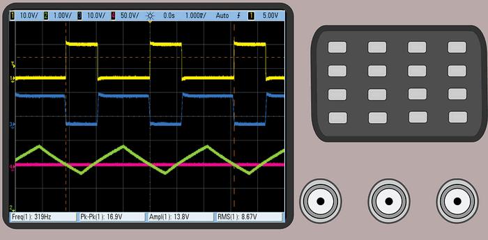 ucgen-dalga-motor-hiz-kontrolu-referans-voltaj-osiloskop
