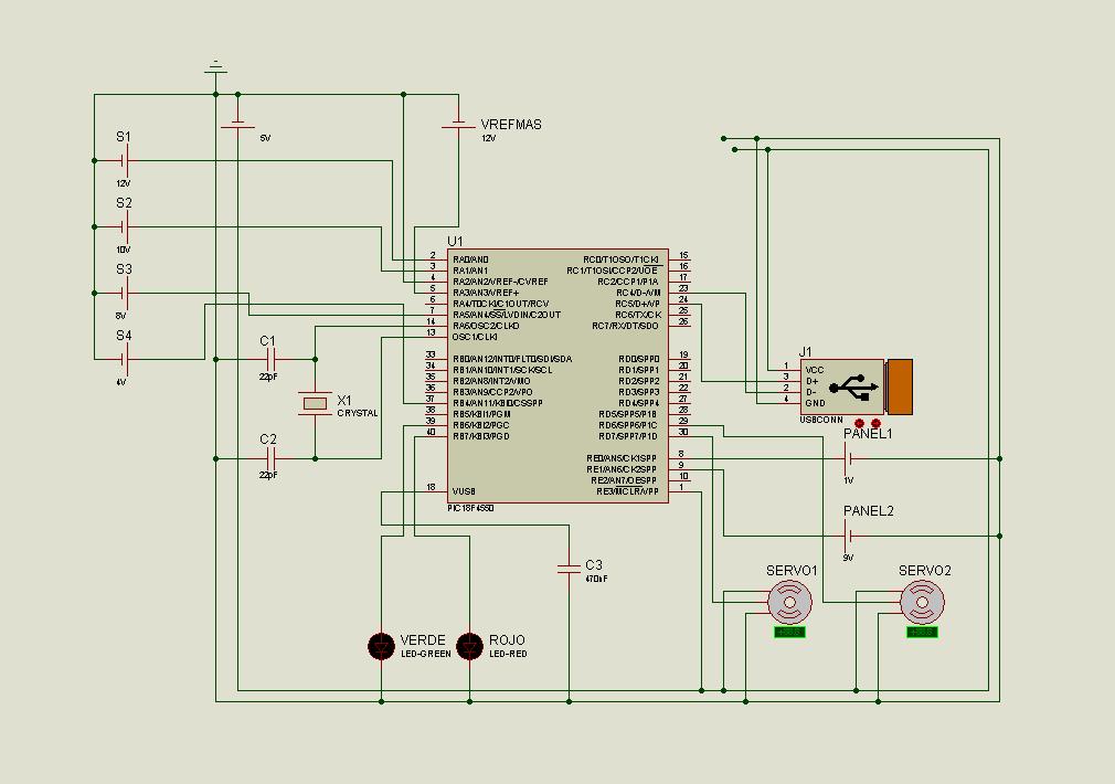 Pic18f4550 Pic18f2550 Usb Project Visualbasic Circuit