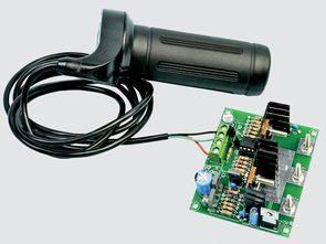 Yüksek güçlü 30 amper dc motor hız kontrol devresi