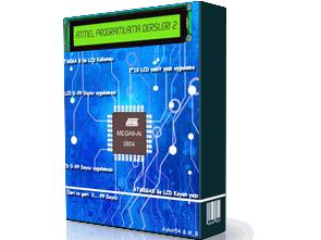 Atmel programlama dersleri 2 (ATmega8 LCD)