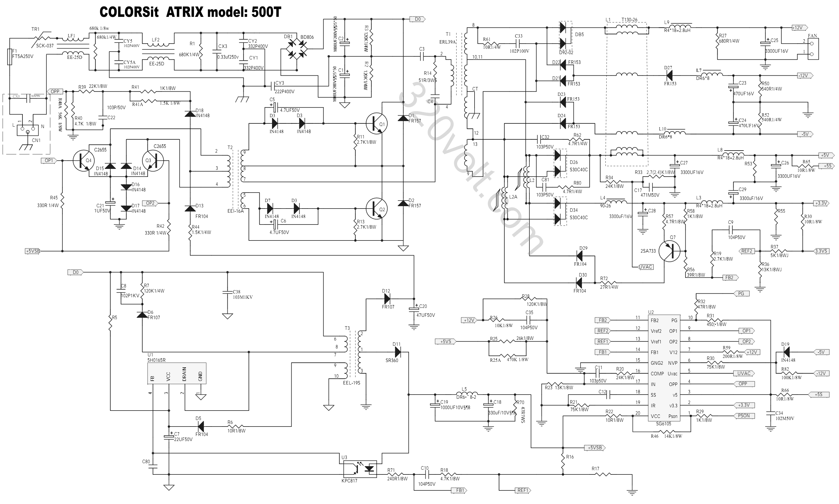 Block Diagram Of 12v Power Supply Wiring Library Atx Circuit