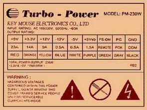 Key Mause Turbo Power TL494 LM393 PM230W