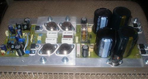 Amplifier Circuits 250watt 5 Different Designs