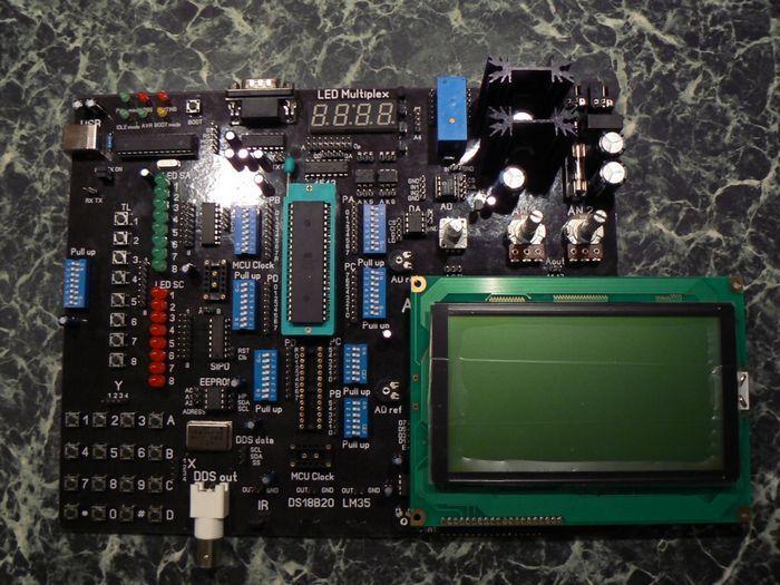 Avr Rotary Encoder Circuit Diagram