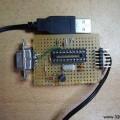 Simple Attiny2313 Programmer Circuit Com Port RS232  PonyProg atmel programmer com port programmers 120x120