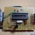 Simple Attiny2313 Programmer Circuit Com Port RS232  PonyProg attiny isp programmer 120x120