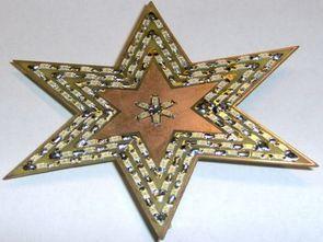 Attiny13 yıldız şeklinde smd ledli efekt devresi