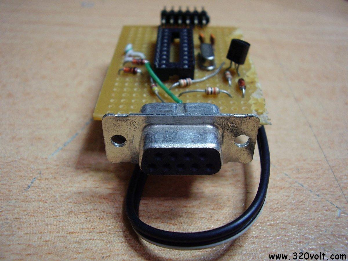 Simple Attiny2313 Programmer Circuit Com Port Rs232 Ponyprog 232 Serial Diagram Amplifiercircuit Avr Programmers 120x120