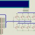 Display kontrolü (digitlere değişken atama)