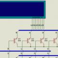 Hi tech C Değişken sayısının display ile gösterilmesi