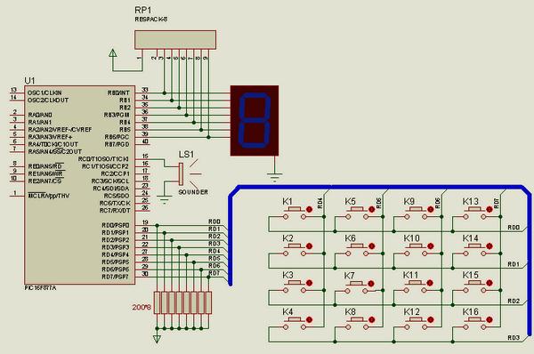 hi-tech-c-isis-proteus-buton-ile-display-kontrolu-speak-fonksiyonu