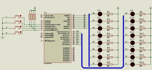hi-tech-c-leds-buttons-hi-tech-c-butonlar-ile-16-led-kontrolu