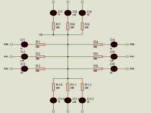 Hi tech C trafik ışığı uygulama örneği