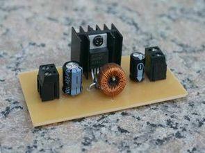 LM2575 ile 3.3 volt dc dc regülatör devresi