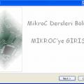 MikroC Dersleri 1