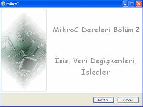 MikroC Dersleri 2