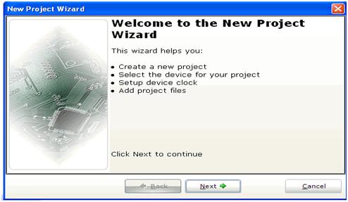 mikroc-yeni-proje-olusturma