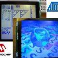 Nokia 6100 LCD Sürücü dsPIC33FJ128GP ATmega168