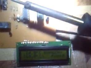 TCN75A sensörlü lcd ekranlı ısı fan kontrol picbasic pro pic16f84a