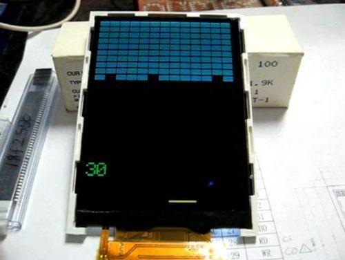 TFT TS8001 LCD Examples Circuit pic18f4680 CCS C tft tetris glcd ccs c pic18f