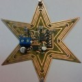 Star LED Effects Circuit ATTINY13 Project yildiz star attiny13 bascom led smd leds 120x120