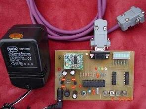 Kablosuz veri iletimi alıcı verici kartı  CC1000 PIC16F876