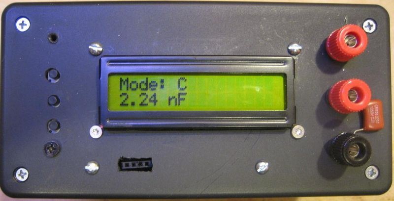 frequency meter circuit lcr meter atmega328 electronics projects