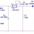 LNK302P ile  Buck Boost konvertör devresi (izolasyonsuz)