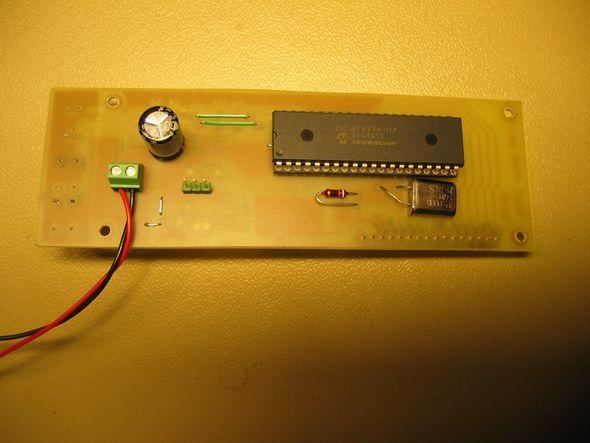 LCD SWR Meter Circuit PIC16F877 SWR Meter circuit pcb lcd Display swrmetre devresi