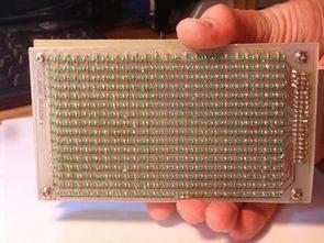 ATMega168 animasyon panosu 16X24 smd led matrix