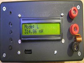 ATmega328 LCR metre + frekans metre