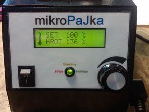 ATmega8 ile 24v 48w lcd göstergeli dijital havya